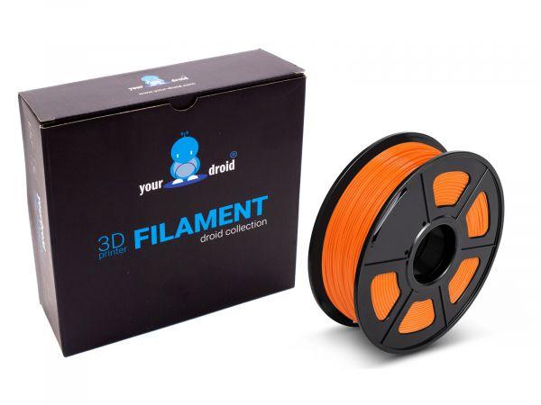 TPU filament orange