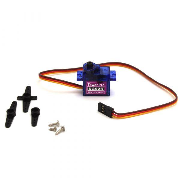 SG92R Digitaler Micro Servo 9g mit carbon fiberglas Getriebe