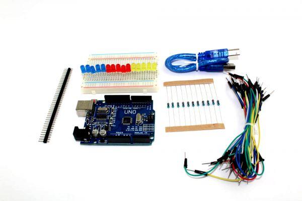 Arduino kompatibles uno r starterkit kunststoffbox mit leds
