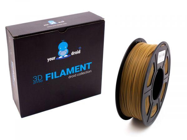 yourDroid PLA PLUS Filament Braun 1.75mm 1kg