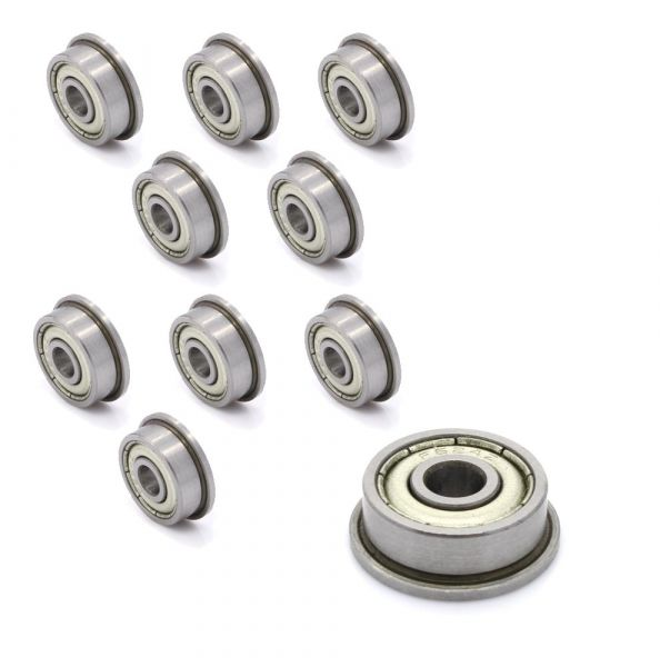 10x Miniatur-Kugellager F604ZZ 4 * 12 * 4
