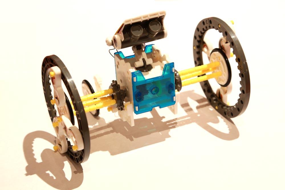 14 in 1 lernbausatz robotik und solar diy bausatz lernspielzeug kinder roboter. Black Bedroom Furniture Sets. Home Design Ideas
