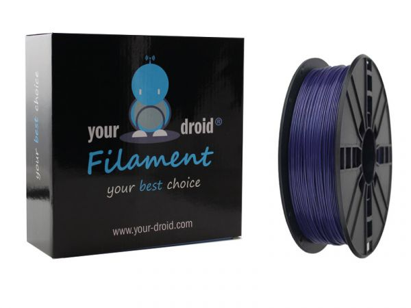 Your Droid ABS-Filament Galaxy Blue 1.75mm 1kg