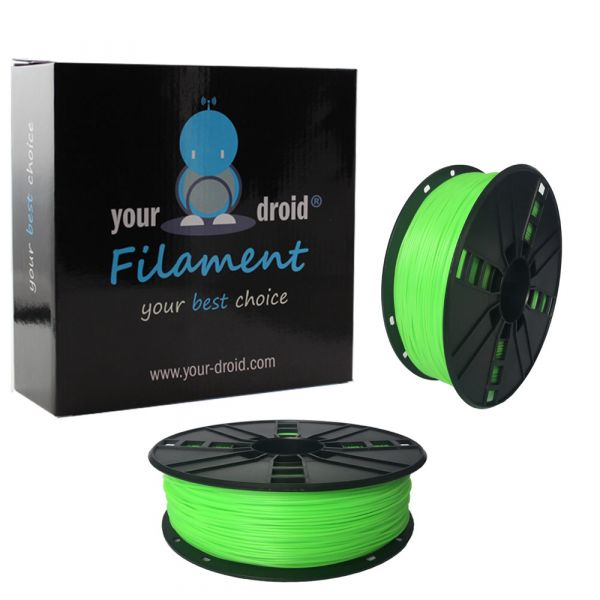 Your Droid TPE Filament Green 1.75mm 1kg