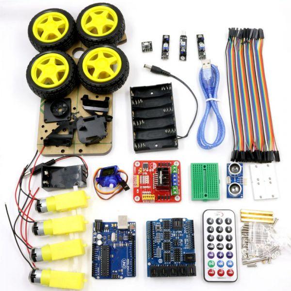 Wd smartcar roboter bausatz arduino diy elektronik