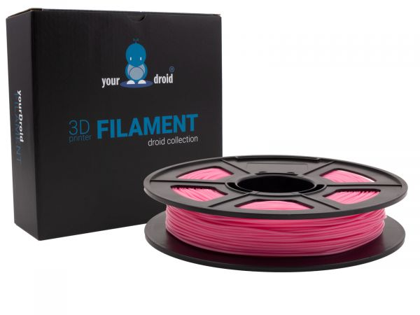 yourDroid TPU filament pink1.75mm 500g
