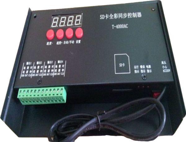 T-4000AC Controller für RGB LED Strips (Achtung: US-Netzstecker!)