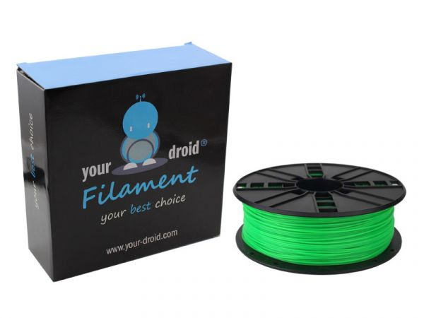 your droid filament ABS green