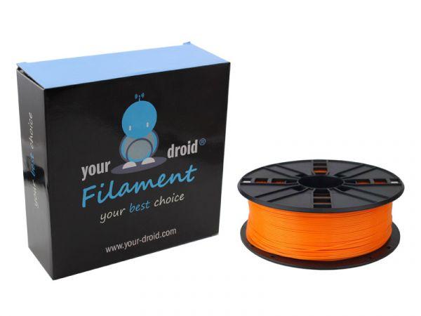 your droid filament ABS orange