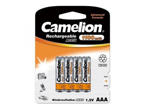 4 Stück Camelion AAA Micro Akku 1100mAH