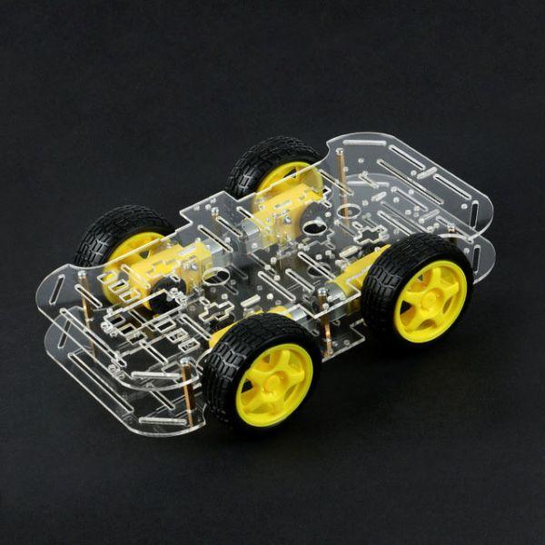 Bausatz: 4WD Smart Car Chassis für Roboter