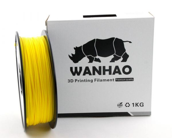 Wanhao PLA Filament Yellow 1.75mm
