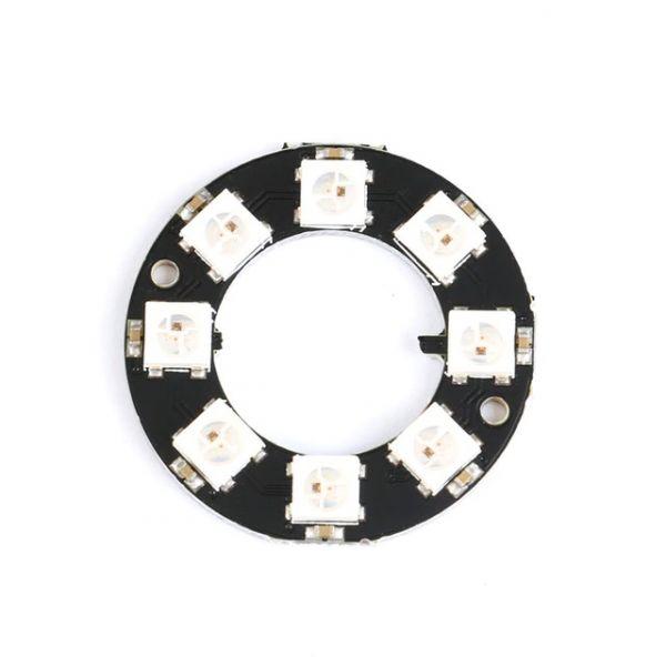 8Bit RGB LED Ring WS2812 5V ähnl. Neopixel