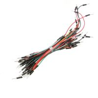 65 Breadboard Jumper Kabel im Set