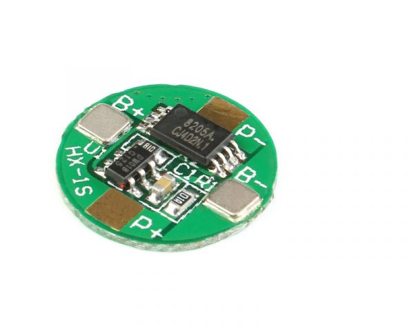 3.7V 1S 2.5A 18650 li-ion BMS PCM Battery Protection Board Lade Modul