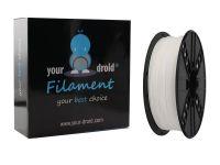 Your Droid PLA Filament White 1.75mm
