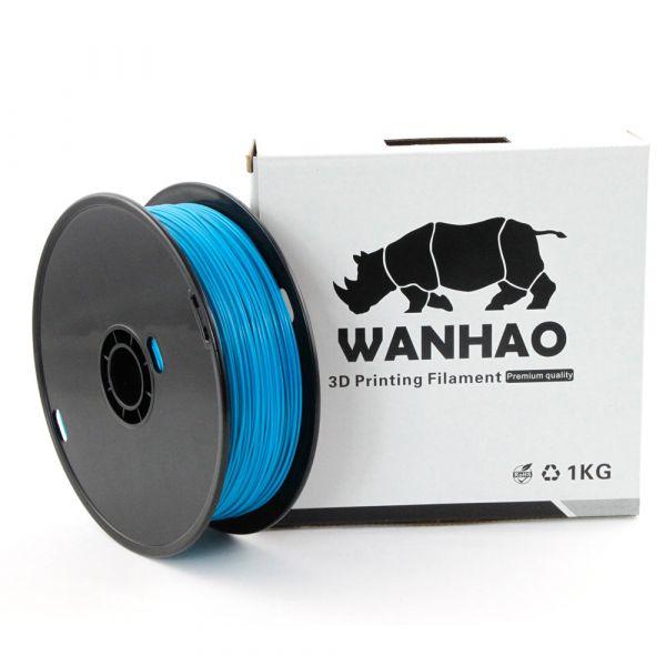 Wanhao PLA Filament Pfau-blau 1.75mm