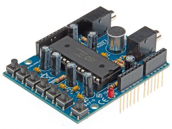 Velleman Bausatz KA02 Audio Shield für ARDUINO®