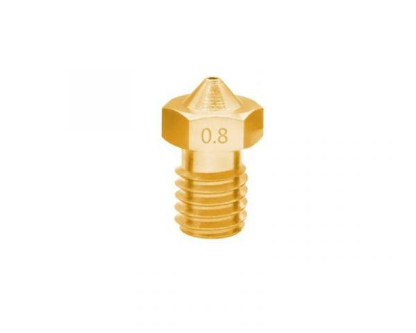 0.8mm M6 J-Head Düse für 1.75mm Filament