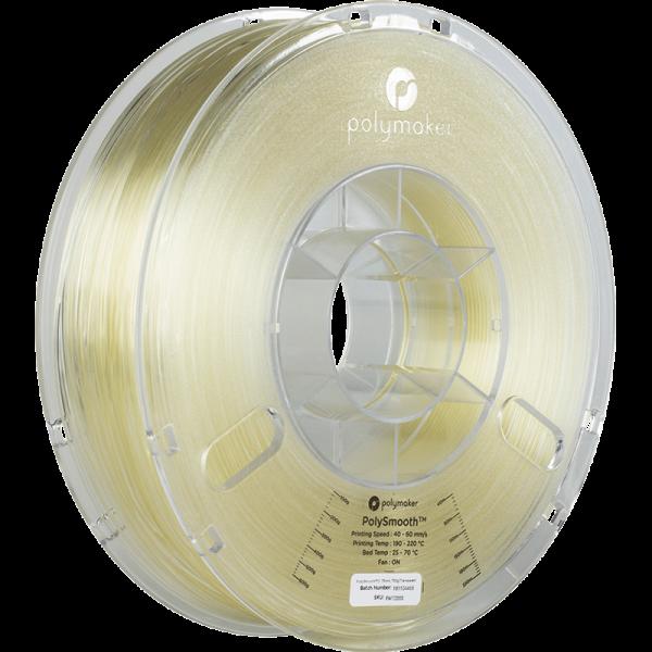 Polymaker Polysmooth Filament Transparent 1.75mm 750g