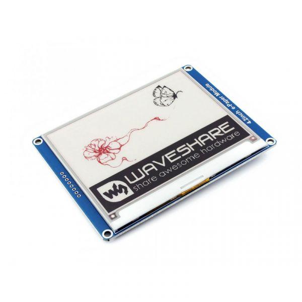 "Waveshare 400x300 4.2"" e-Paper Display Modul 3-farbig"