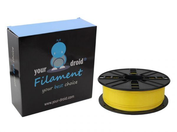your droid filament ABS yellow