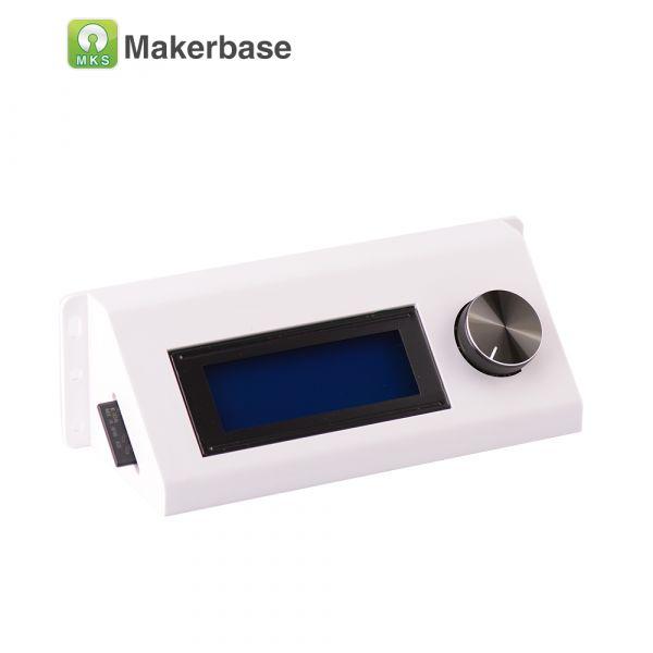 LCD2004 Kunststoffgehäuse für 3D-Drucker Displays (weiss)