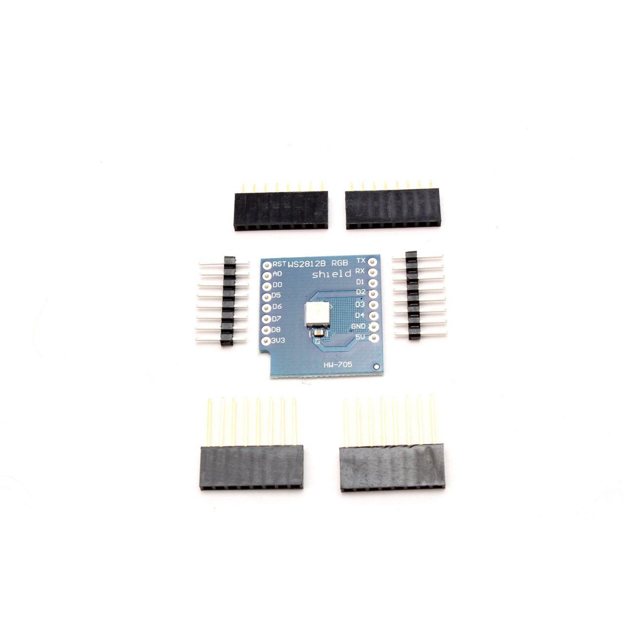Wemos D1 WS2812 RGB LED Shield