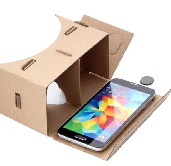 Google Cardboard 3D VR Brille für 3D Spiele