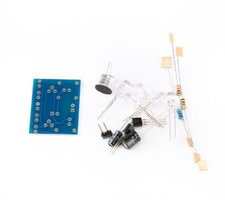 Bausatz: Mini LED-Lichtorgel