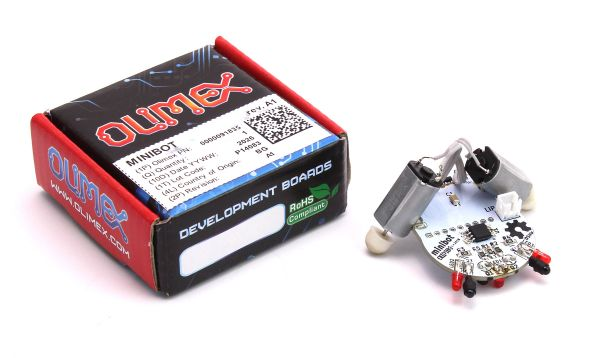 Minibot Programmierbarer Linefollower Roboter