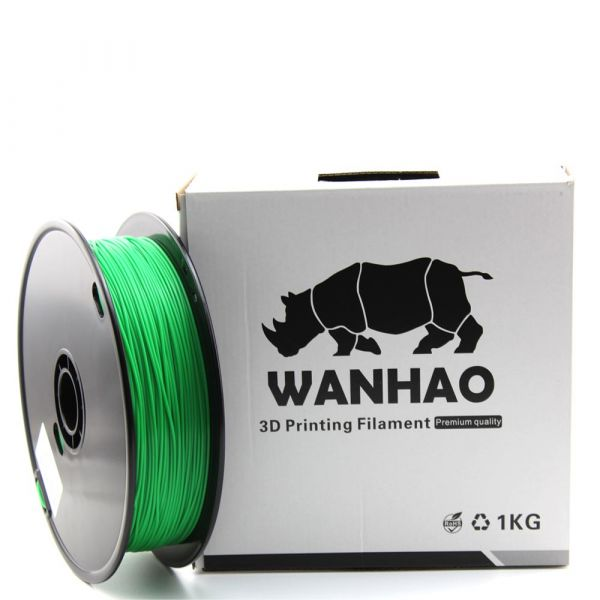 Wanhao PLA Filament Green 1.75mm