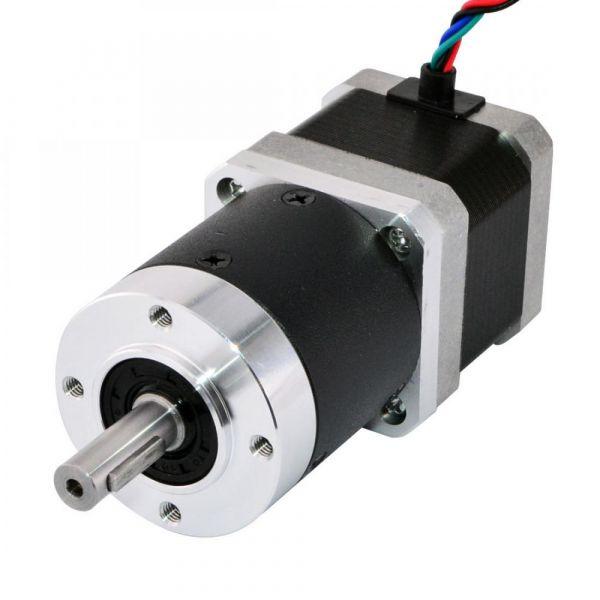 Nema 17 Schrittmotor mit Planetengetriebe 20:1 39mm 17HS15-1684S-HG20