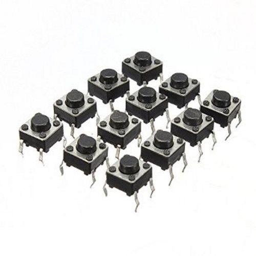 50 MicroSchalter / Drucktaster 6x6x6mm