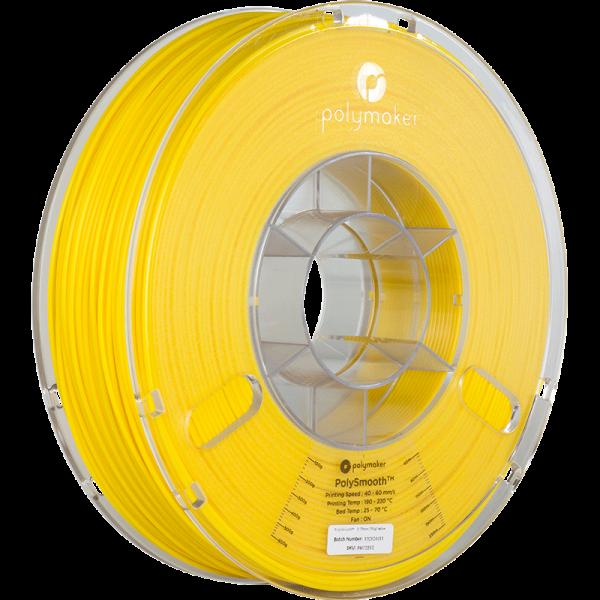 Polysmooth Filament Gelb Yellow 1.75mm 750g