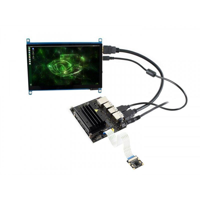 Nvidia Jetson Nano Developer Kit mit Touch Display- Kamera- 64GB SD-karte