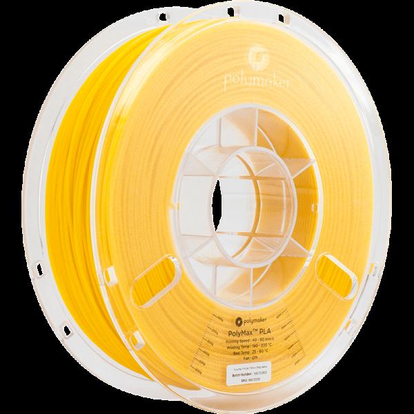 Polymaker PolyMax PLA Filament Gelb (Yellow) 1.75mm 750g