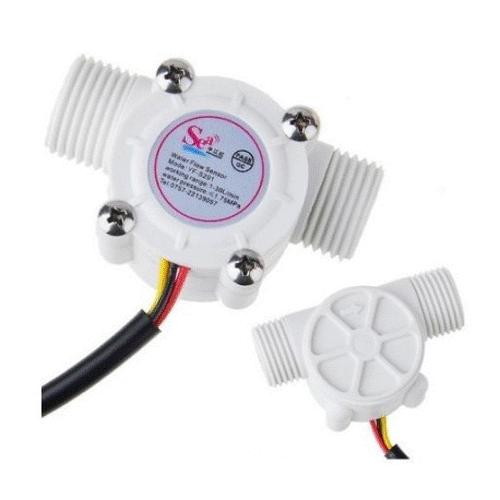 YF-S201 Halleffekt Wasser-/Durchflusssensor 1-30l/min G1/2