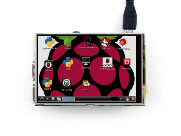 "3,5"" Plug-and-Play Touch Screen TFT LCD für Raspberry"