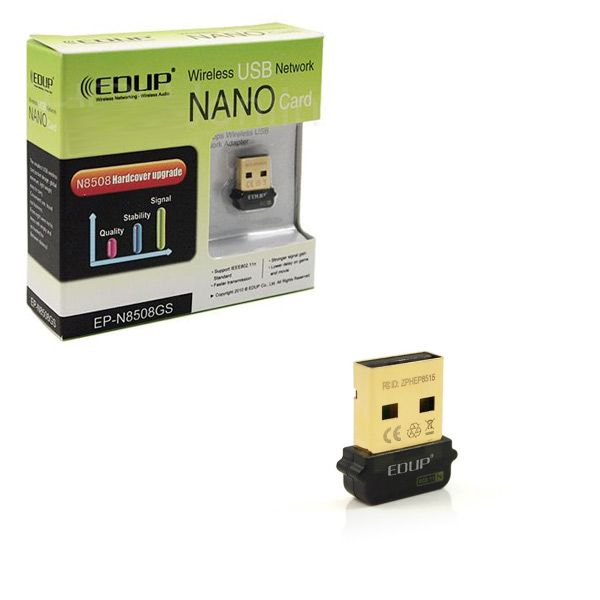 EP-N8508-GS Ultra-Mini Nano USB2.0 802.11n