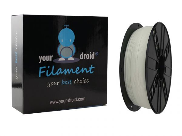 Your Droid ABS-Filament Luminous green 1.75mm (nachleuchtend)