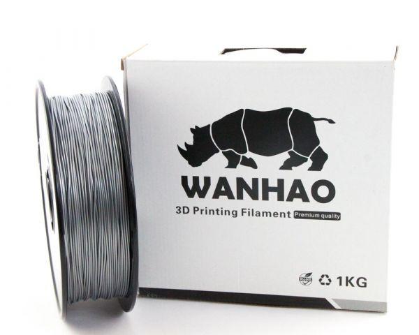 Wanhao PLA Filament Silver 1.75mm