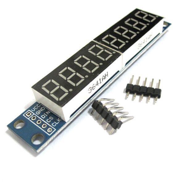 MAX7219 Led Modul 8Bit 7-Segmentanzeige