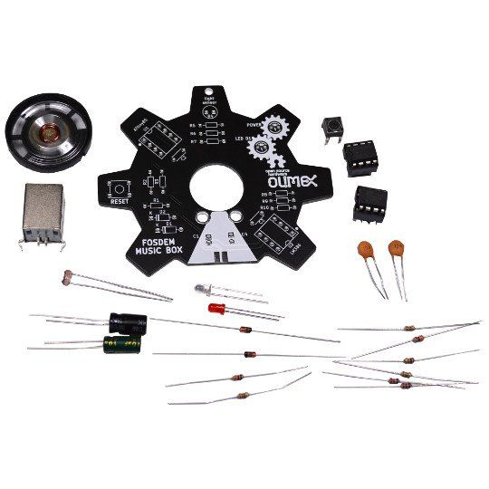 Bausatz: Programmierbare Musikbox Arduino kompatibel