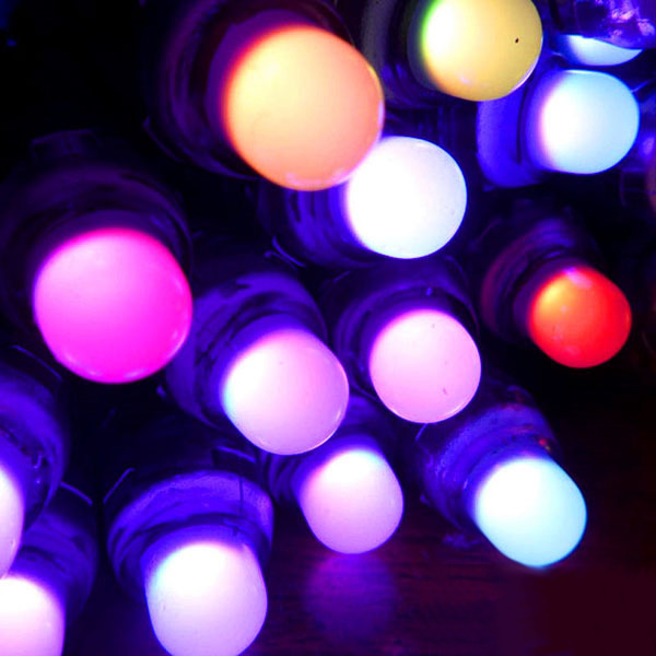 WS2801 50 pieces RGB LED IP66 Adalight Boblight Ambi-TV Waterproof ...