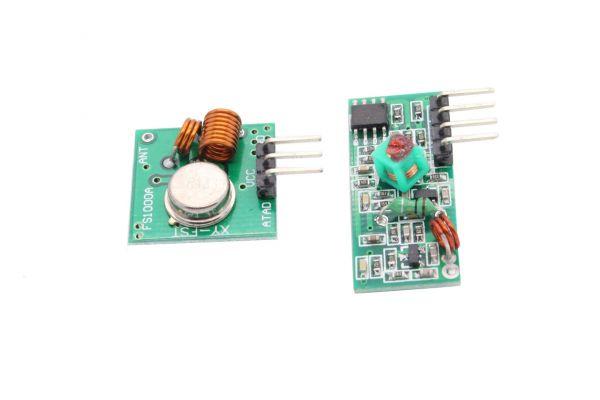 MX-05V 433MHz RF Funkmodul / Sender + Empfänger (3 Stück)