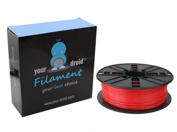 your droid filament ABS red