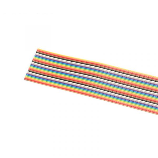 1 Meter Flachbandkabel 14-polig 1,27mm