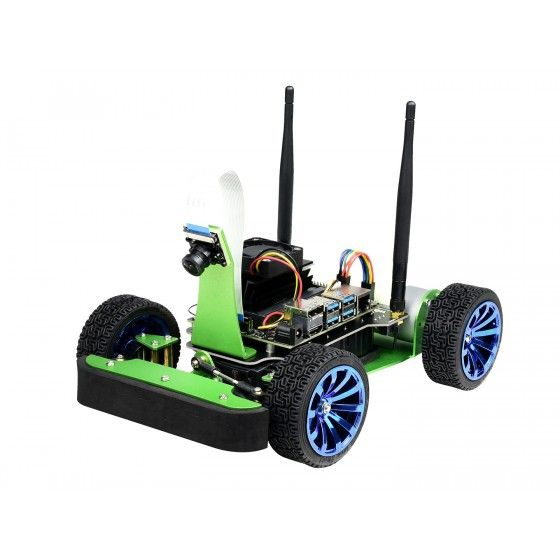 Waveshare JetRacer AI Kit- AI Racing Robot für Jetson Nano (Ohne Mainboard)