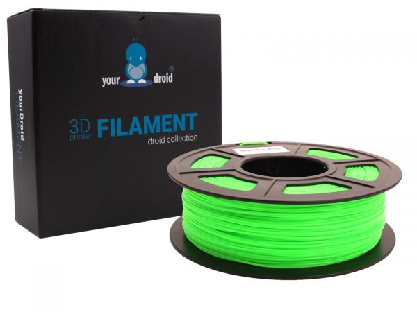 yourDroid PLA plus filament grün 1.75mm